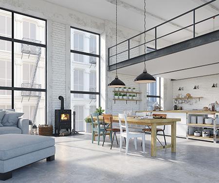 Aménagement de loft à Lille, Roubaix, Tourcoing