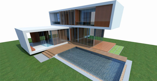 Architecte esquisse de projets