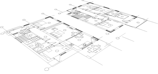 Esquisses de projet par architecte à Lille, Bondues