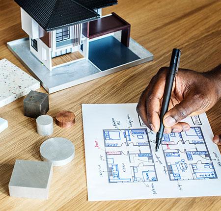 Division de maison par architecte à Lille, Bondues