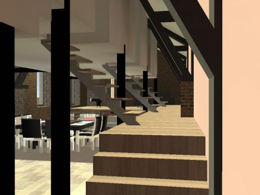 am nagement de loft lesquin architecte sur lille roubaix. Black Bedroom Furniture Sets. Home Design Ideas