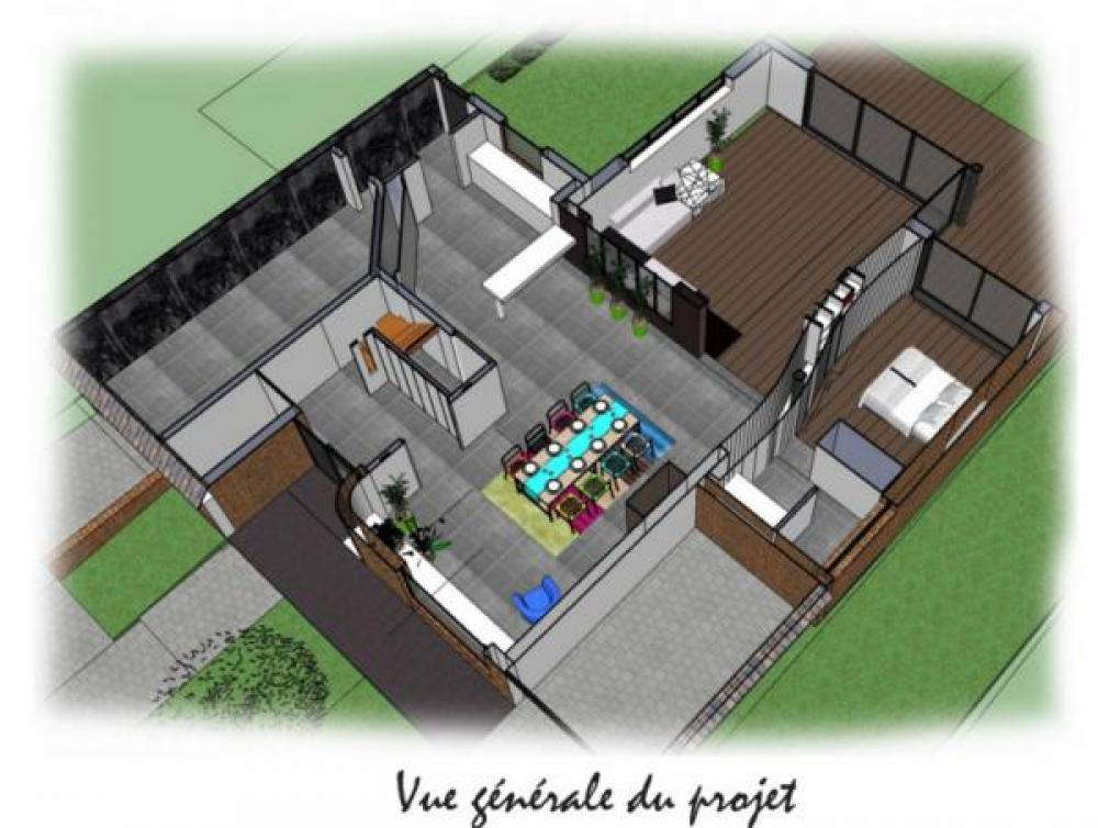 Extension et rnovation d 39 une maison individuelle for Extension maison 92